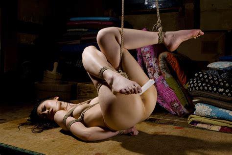 Chinese slave in rope bondage and ballgagged jpg 2560x1708